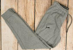 NWT Mens Puma French Terry Sweatpants Joggers Gray Heather -