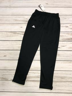 NWT Adidas Mens Size S Small Black Team Issue Pants Athletic