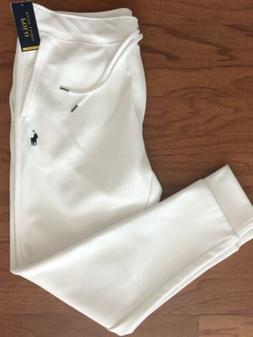 NWT POLO RALPH LAUREN Performance Men's Classic White Jogger