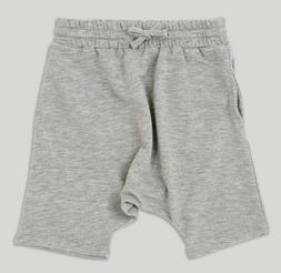 NWT AFTON STREET Toddler Boys Slouchy Fit Jogger Shorts-Heat