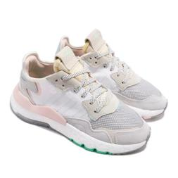 adidas Originals Nite Jogger W Boost White Grey Pink Women R