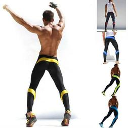 Pants Compression Men Joggers Sexy Tight Ankle Length Casual