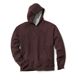 Champion Men's Powerblend Pullover Hoodie, Maroon, Large