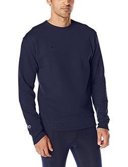 Champion Men's Powerblend Sweats Pullover Crew Navy M