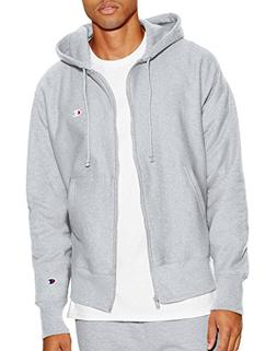 Champion LIFE Men's Reverse Weave Full-Zip Hoodie, Oxford Gr