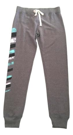 SO Size Small Heather Grey Closed Bottom Drawstring Joggers