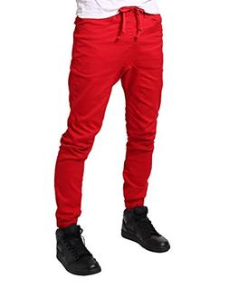 slim fit drawstring harem jogger