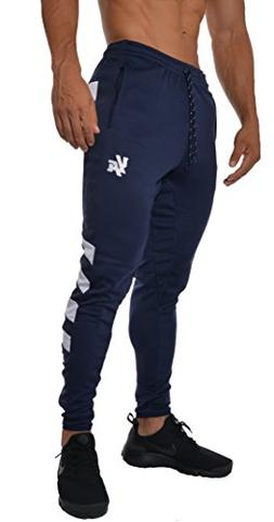 YoungLA Mens Soccer Training pants tapered fit 5 colors Navy