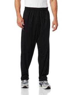 Russell Athletic Men's Big & Tall Solid Dri-Power Pant, Blac