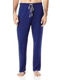 Hanes Men's Solid Knit Sleep Pant, Blue, XX-Large