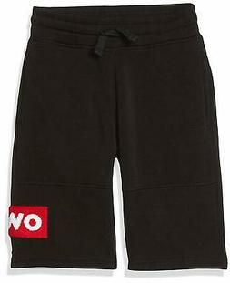 Southpole Boys' Big Jogger Shorts in Basic Solid Colors and
