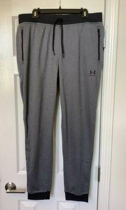 Under Armour Sportstyle Jogger Gray And Black 1290261 Loose