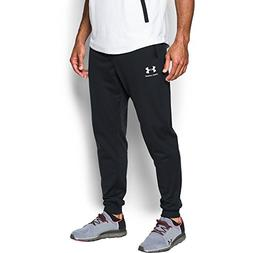 Under Armour Men's Sportstyle Jogger Pants, Black /White, Me