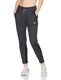 Under Armour Women's Sportstyle Jogger, Black /White, Medium