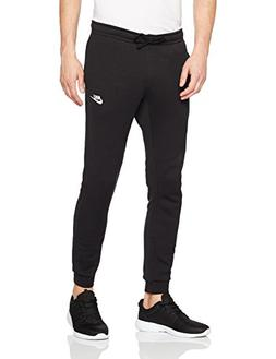 NIKE Sportswear Men's Club Joggers, Black/White, XX-Large