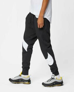 Nike Sportswear French Terry Pants Mens Black Color Block Ac