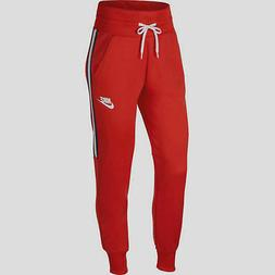 Nike Sportswear Women's Joggers Tapered XS Red Track Pants C