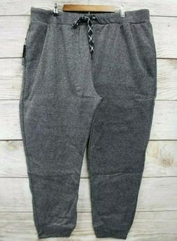 Steve's Jeans Mens 5X Black Grindle Fleece Regular Slim Fit