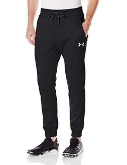 Under Armour Men's Storm Fleece Joggers Pants, Black /White,