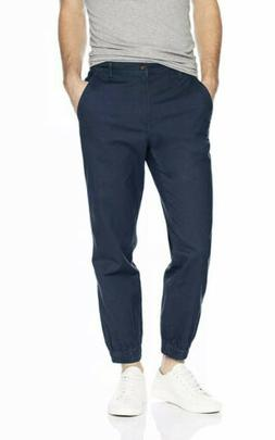 Amazon Essentials Men's Straight-Fit Jogger Pant, Navy, Medi