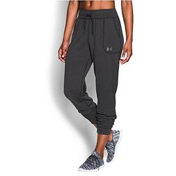 Under Armour Women's Tech Pant Solid, Carbon Heather /Metall