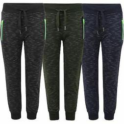 Teens Kids Bottoms Tracksuit Trousers Girls Boys Joggers Swe