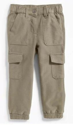 terry knit built in flex cargo joggers