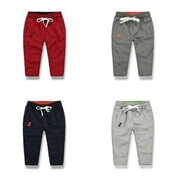 Toddler Baby Boy Sport Harem Pants Kid Sweat Jogger Drawstri