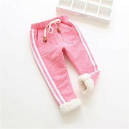 Toddler Baby Trousers Warm Joggers Sports Pants Unisex for W