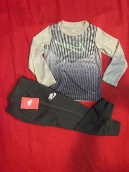 Nike Toddler Boys Lightweight Dri-Fit Tee & Dual Pockets Fre