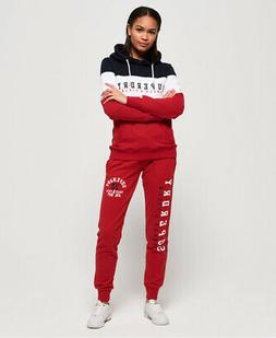 Superdry Womens Track & Field Lightweight Joggers