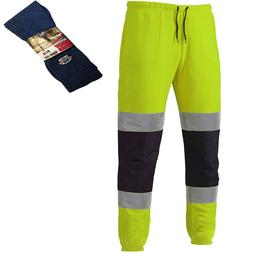 Dickies Two Tone Hi-Vis Men's Jogger Pants Yellow & Navy & 1