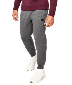 Under Armour UA Rival Fleece Tapered Leg Charcoal Gray Heath