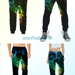 UNIFACO Unisex 3D Digital Print Sports Jogger Pants Casual G