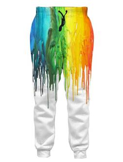 Loveternal Unisex 3D Graphic Joggers with Drawstring Pockets