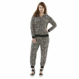 JUICY COUTURE Velour Leopard Hoodie &/or Joggers or Pants Tr