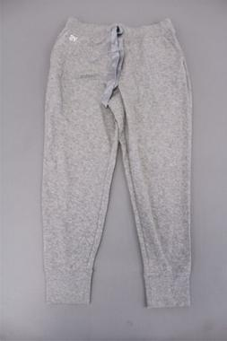 Victoria's Secret Women's Ribbon Tie Logo Joggers KB8 Gray L