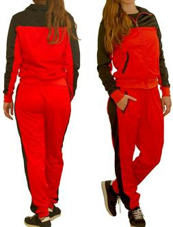 Women Activewear TrackJacket TrackPant Jogger outfit Tracksu
