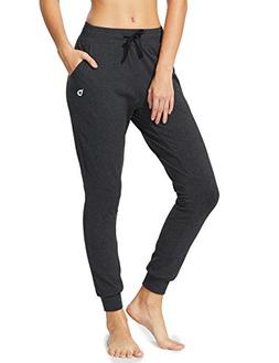 Baleaf Women's Active Yoga Lounge Sweat Pants with Pockets C