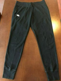 Nike Women's Black Fleece Joggers L *NWOT*