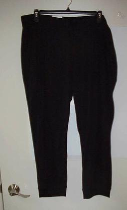 Women's Xersion BLACK Jogger Pants W/ Pockets Plus Size 3X N