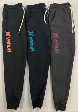 Women's Hurley Cuffed Jogger Athletic Sweat Pants