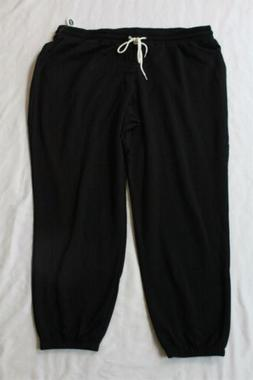 Old Navy Women's Drawstring French Terry Joggers SH3 Black P