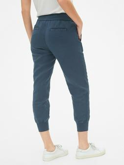 "Gap Women's Drawstring Joggers In Linen Size M Tall- ""Light"