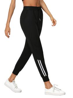 SweatyRocks Women's Drawstring Waist Jogger Sweatpants with