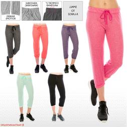 Women's French Terry Jogger Capris