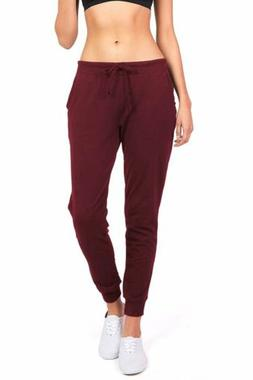 Ambiance Women's Juniors Soft Jogger Pants