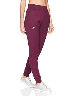 Champion LIFE Women's Reverse Weave Jogger, Dark Berry Purpl