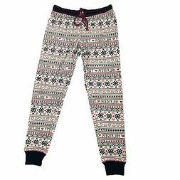 TOMMY HILFIGER Women's Thermal Track Joggers Pant size: S
