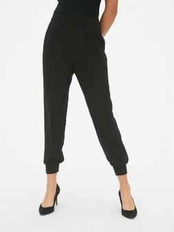 Gap Women's Versatile Jogger Size XL Tall- Black- NWT
